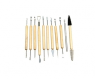 Set of 11 Double Sided Modelling Tools D.K. Art & Craft