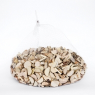 Wood Round Half Slices 2 cm