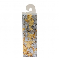 Metal Leaf Flakes 1 g gold and silver mix