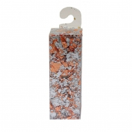 Metal Leaf Flakes 1 g silver and copper mix