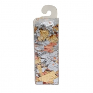 Metal Leaf Flakes 1 g gold, silver and copper mix