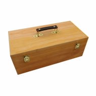 Wooden Artist Materials Box D.K. Art & Craft 40 x 20 x 15 cm