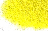 Hologram Polyester Glitter Powder Yellow