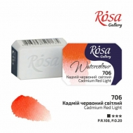 Watercolour Pan 2.5 ml Rosa Gallery - Cadmium Red Light