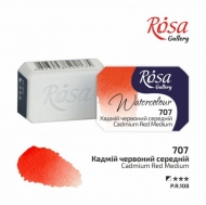 Watercolour Pan 2.5 ml Rosa Gallery - Cadmium Red Medium