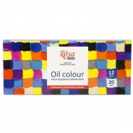 Rosa Studio Oil Paint Set 12 x 20 ml