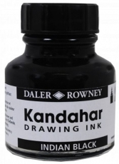 Черен Туш Mастило Daler Rowney Black Kandahar ink 29 ml