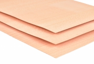 Beech Wood Veneer Sheet 1 mm A4 21 x 30 cm, pack of 5