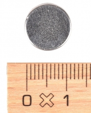 N33 Neodymium Disc Magnet 2.5 mm height, 12 mm diameter