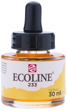 Акварелен Туш Мастило Talens Ecoline 30 ml с пипетка - Резеда