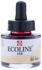 Акварелен Туш Мастило Talens Ecoline 30 ml с пипетка - Кайсия