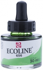 Акварелен Туш Мастило Talens Ecoline 30 ml с пипетка - Зелена Гора