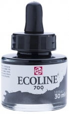 Black Watercolour Ink Talens Ecoline 30 ml