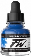 Син Акрилен Туш (Мастило) Daler Rowney FW Ink 29.5 ml