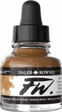 Акрилен Туш (Мастило) Daler Rowney FW Ink 29.5 ml - Кафяв Антилопа