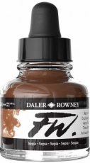 Акрилен Туш (Мастило) Daler Rowney FW Ink 29.5 ml - Сепия
