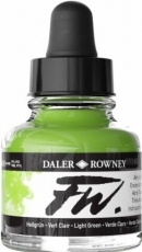 Acrylic Ink Daler-Rowney 29.5 ml - Light Green
