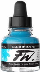 Акрилен Туш (Мастило) Daler Rowney FW Ink 29.5 ml - Тюркоаз