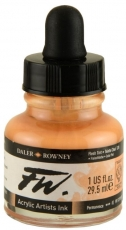Акрилен Туш (Мастило) Daler Rowney FW Ink 29.5 ml - Телесен