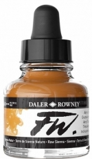 Акрилен Туш (Мастило) Daler Rowney FW Ink 29.5 ml - Сиена Натурална