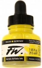 Acrylic Ink Daler-Rowney 29.5 ml - Process Yellow