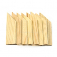 Set of 8 Pine Stretcher Bar Edges No.2 Rosa
