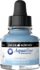 Син Водоразтворим Акварелен Туш Мастило Daler Rowney Aquafine 29.5 ml - Кобалт