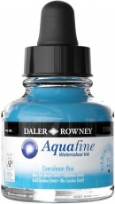 Watercolour Ink Daler-Rowney Aquafine 29 ml - Cobalt Blue Hue