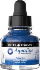 Watercolour Ink Daler-Rowney Aquafine 29 ml - Ultramarine Blue Dark
