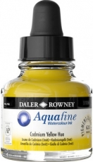 Watercolour Ink Daler-Rowney Aquafine 29 ml -  Cadmium Yellow Deep Hue