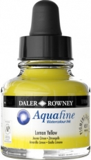 Watercolour Ink Daler-Rowney Aquafine 29 ml - Cadmium Yellow Hue