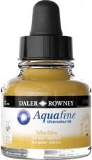 Watercolour Ink Daler-Rowney Aquafine 29 ml - Lemon Yellow