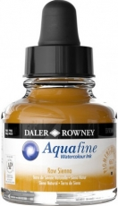 Watercolour Ink Daler-Rowney Aquafine 29 ml - Yellow Ochre
