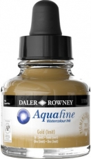 Watercolour Ink Daler-Rowney Aquafine 29 ml - Raw Sienna