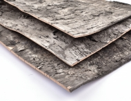 Birch Bark Sheet 25 kg box - approximately 60 sheets with size 35 x 50 cm