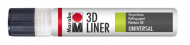 Withe Multi-purpose 3D Paint Liner Marabu