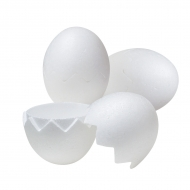 Divisible Polystyrene Egg 150 mm