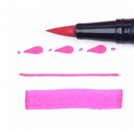Tombow Dual Brush Pen ABT-725 Rhodamine Red