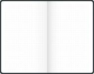 Dotted Notebook Brunnen : 90 gsm : 96 sheets : A6