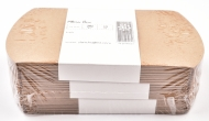 Pack of 10 Kraft Card Pillow Gift Boxes 9 x 10 cm