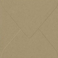 Recycled Natural Square Envelope  (140 mm x 140 mm)