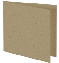 Square Card Blanks Recycled Natural