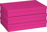 Gift Box 23.5 x 33 x 6 cm A4 One Colour Pink