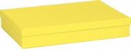 One Colour Gift Box Stewo : 23.5 x 33 x 6 cm : A4 : Yellow