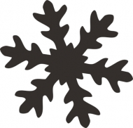 Heyda Christmas Craft Punch 50 mm - Snowflake
