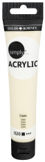Daler Rowney Simply Acrylic 75 ml - Cream