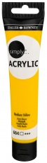 Daler Rowney Simply Acrylic 75 ml - Medium Yellow