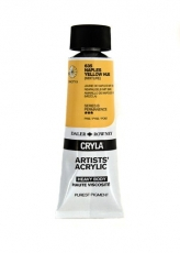 DR acrylic Cryla 75ml 635  naples yellow hue