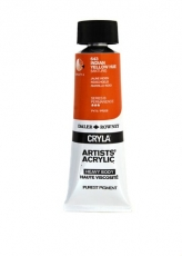 DR acrylic Cryla 75ml 643  indian yellow hue