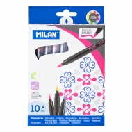 Milan markers 661 Brush 10 col